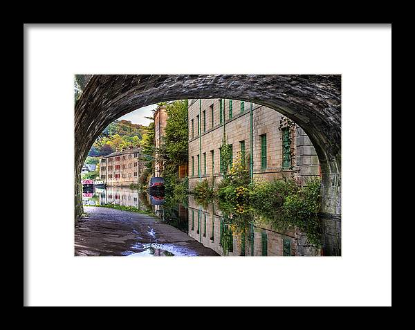 Bridge Framed Print featuring the photograph Under The Bridge by Yorkshire In Colour