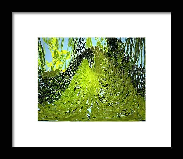 Seaweed Framed Print featuring the photograph Under Water by Merja Waters