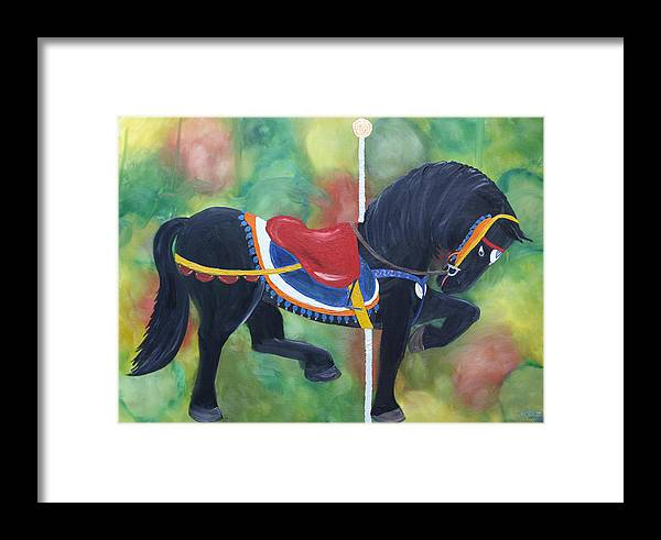 Unforgettable Framed Print featuring the painting Unforgettable Spirit by Tammy Dunn