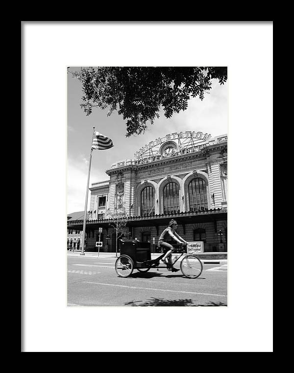 Street Framed Print featuring the photograph Union Station by Brian Anderson
