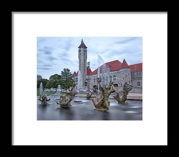 Union Station Framed Print featuring the photograph Union Station by Emil Davidzuk