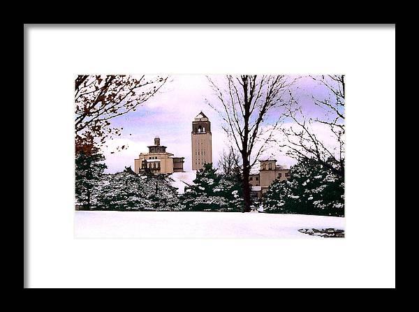 Landscape Framed Print featuring the photograph Unity Village by Steve Karol