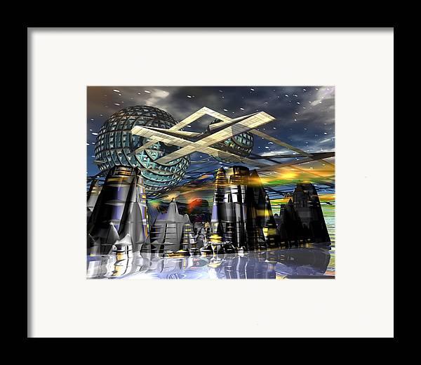 Galaxy Framed Print featuring the digital art Universal World by Mason BenYair