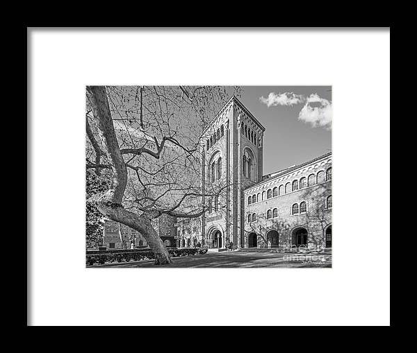 Aau Framed Print featuring the photograph University Of Southern California Administration Building by University Icons