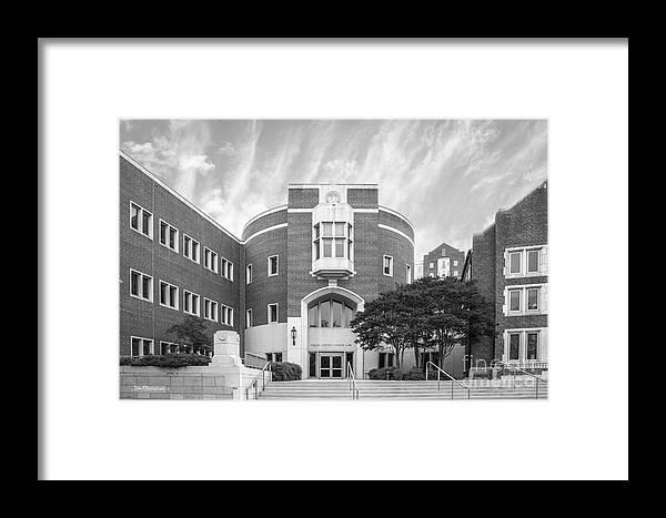 University Of Tennessee School Of Law Framed Print by University Icons