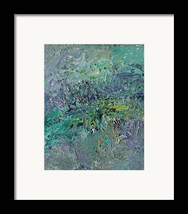 Fusionart Framed Print featuring the painting Blind Giverny by Ralph White