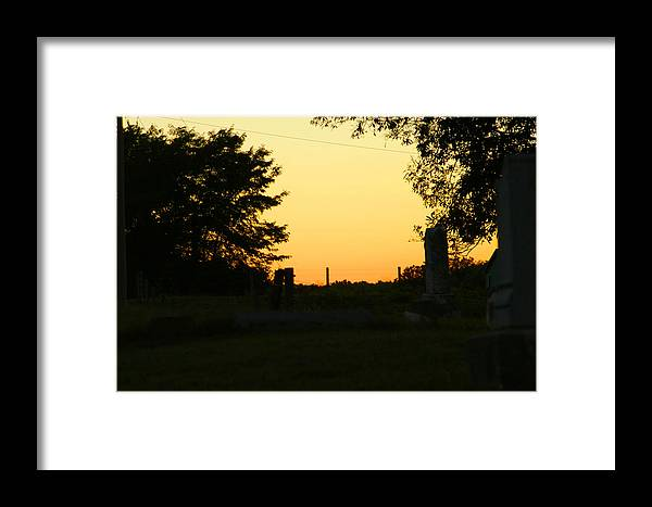 Sun Framed Print featuring the photograph Unsettling Sun by Carl Perry