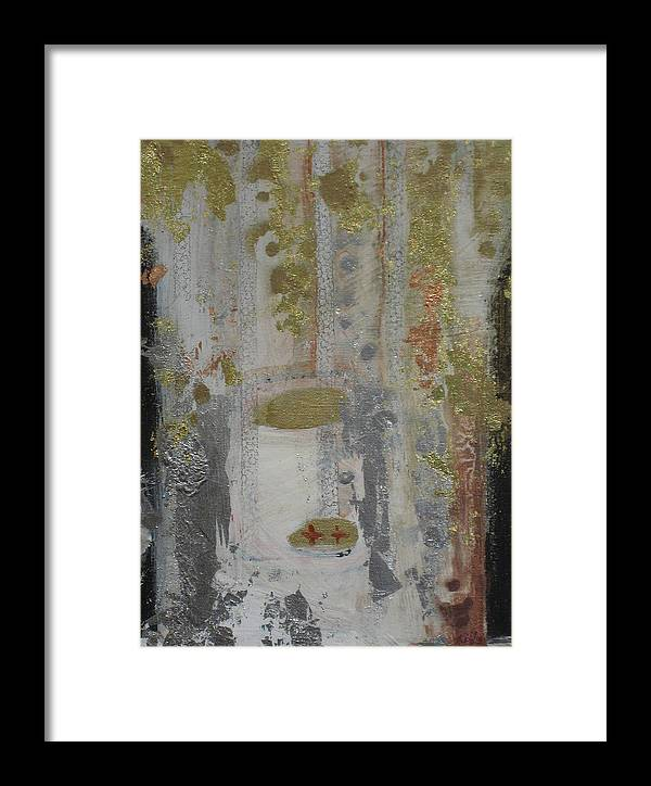 Abstract Framed Print featuring the painting Until Morning by Kyle Ethan Fischer