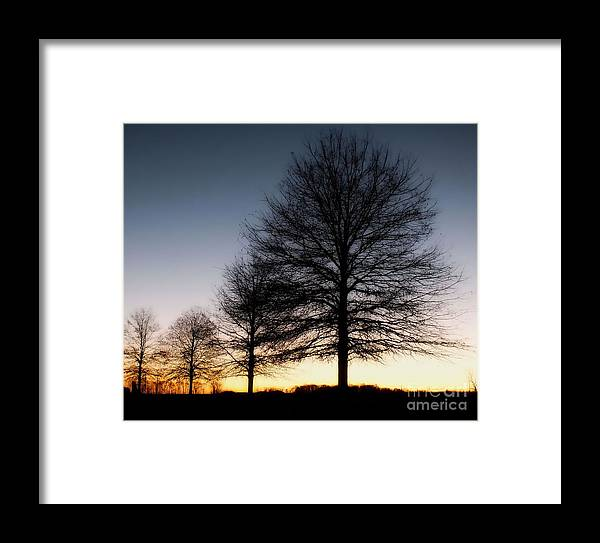 Winter Framed Print featuring the photograph Until Then by Christy Ricafrente