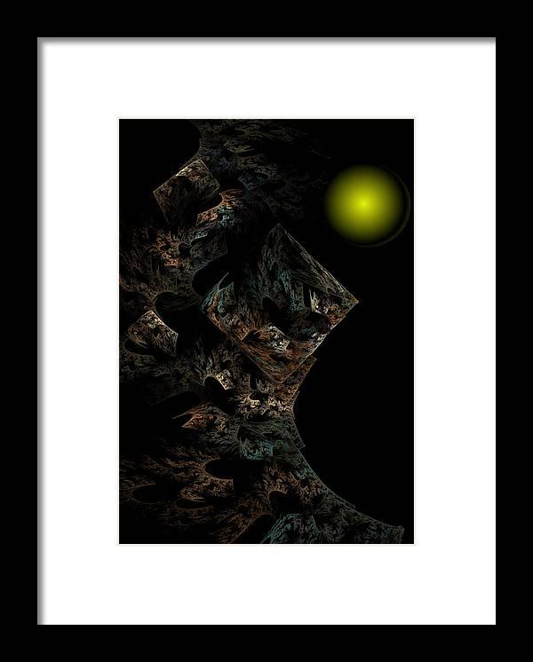 Fantasy Framed Print featuring the digital art Untitled 12-18-09 by David Lane