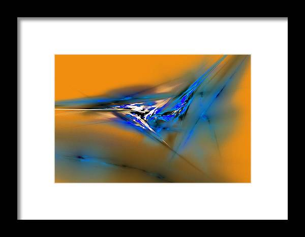 Digital Painting Framed Print featuring the digital art Untitled 3-30-10 by David Lane