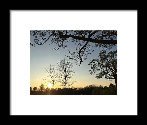 Landscape Framed Print featuring the photograph Untitled by Daniel Sparks