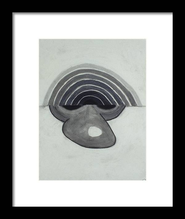 Charcoal Framed Print featuring the drawing Untitled by Jamie Wooten