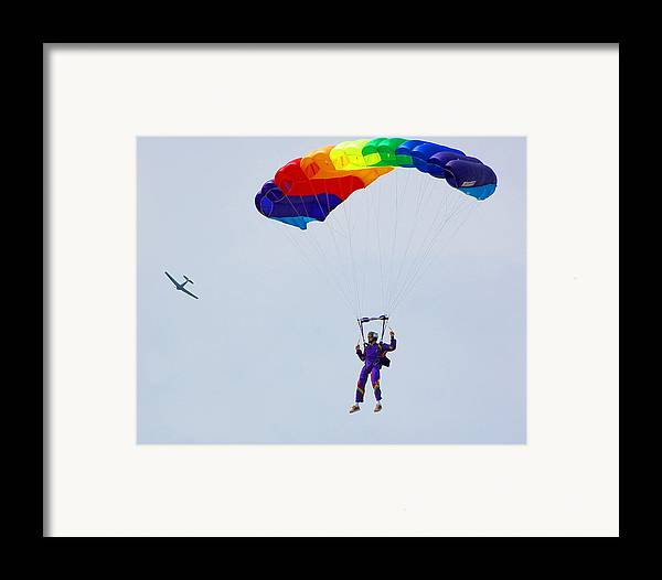 Parachute Framed Print featuring the photograph Untitled by Jennifer Englehardt