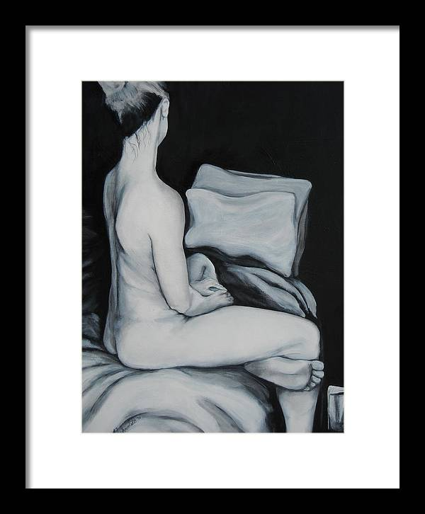 Figurative Painting Framed Print featuring the painting Untitled by Kevin Schmoldt