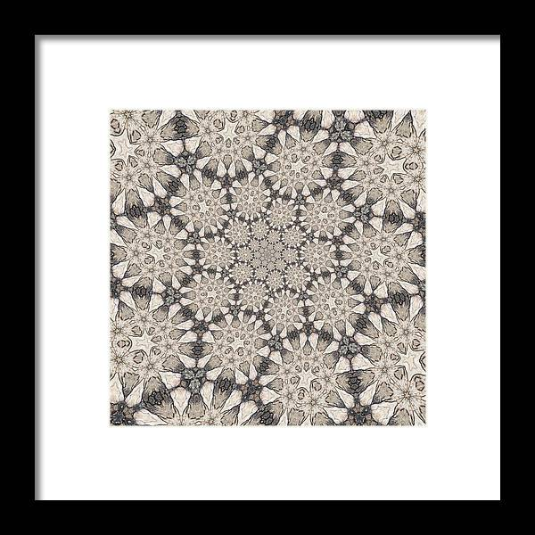 Framed Print featuring the digital art Untitled by Krishena Anderson