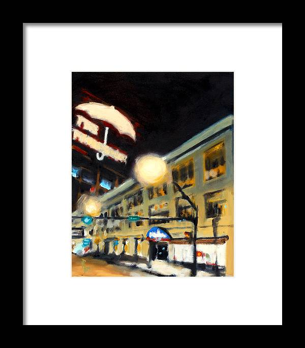 Rob Reeves Framed Print featuring the painting Untitled by Robert Reeves