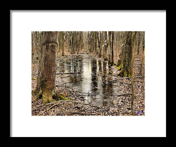Cold Framed Print featuring the photograph Untitled1 by Jeff Breiman