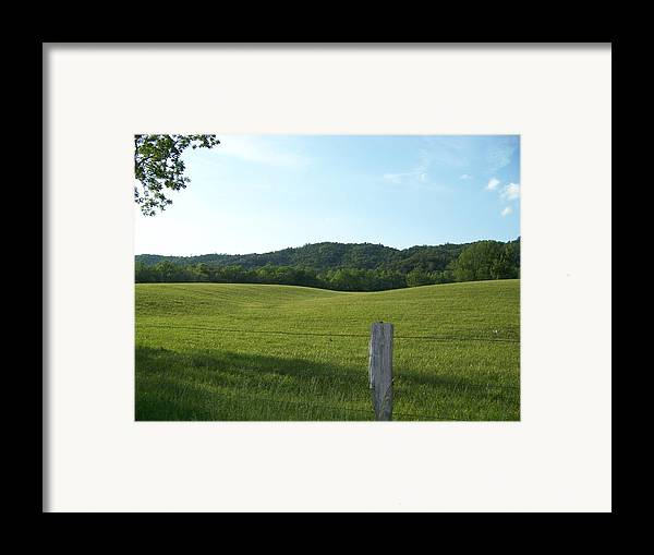 Landscape Framed Print featuring the photograph Untouched by Jessica Burgett