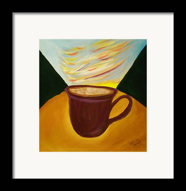 Up All Night Framed Print featuring the painting Up All Night by Beth Cornell