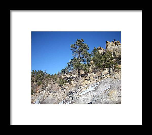 Colorado Framed Print featuring the photograph Up high by Jack Norton