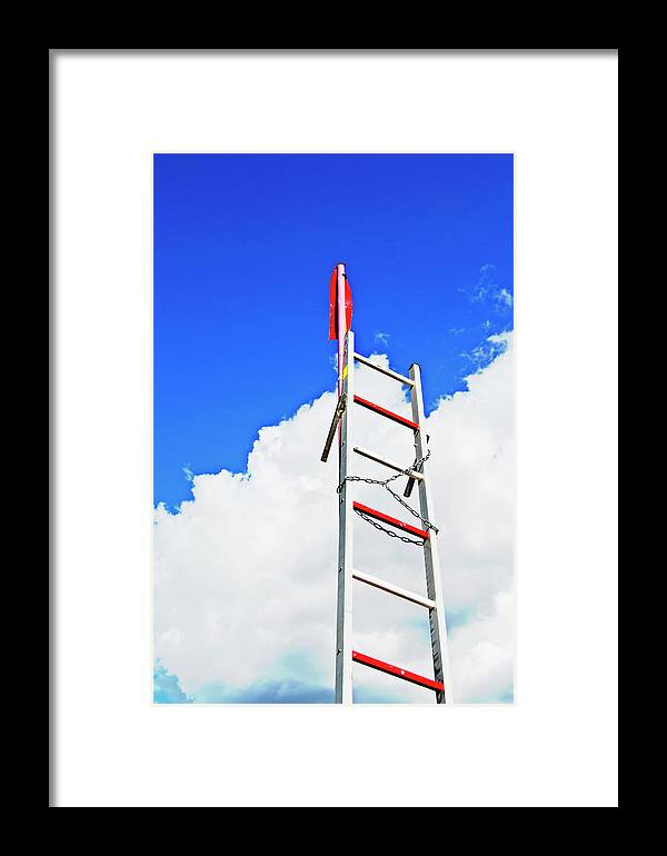 Up Framed Print featuring the photograph Up The Sky by HazelPhoto