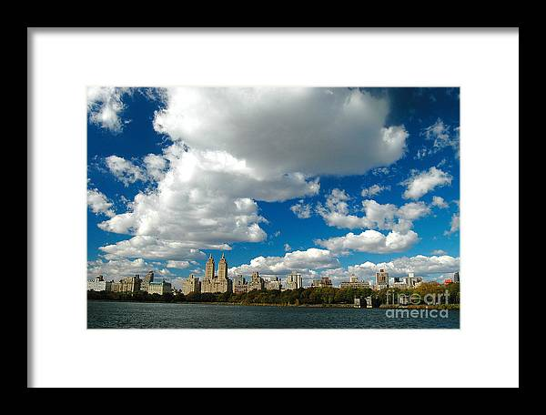 West Side Framed Print featuring the photograph Upper West Side Cityscape by Allan Einhorn