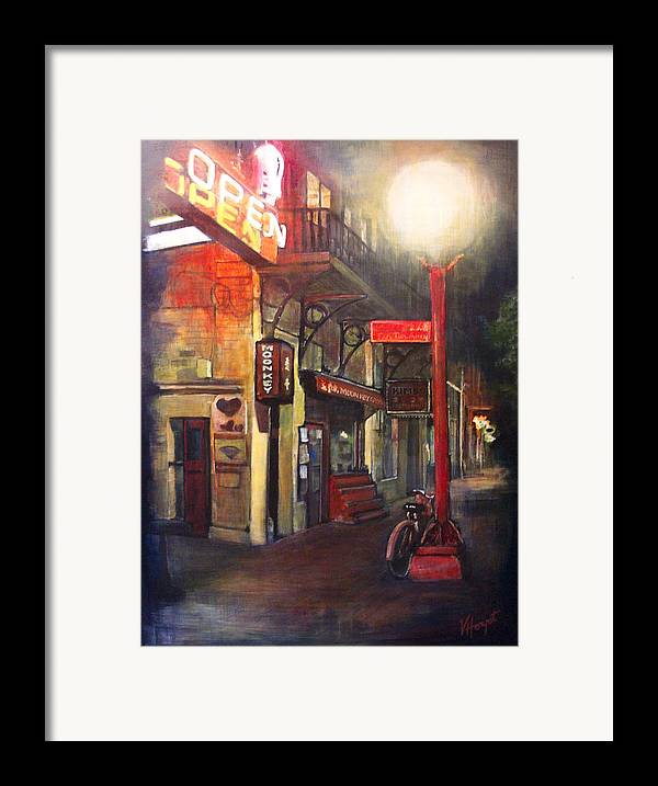 Chinatown Framed Print featuring the painting Upstairs At Mrs. Woos by Victoria Heryet
