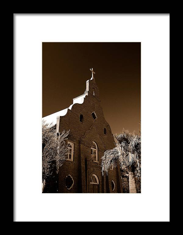 Arizona Photography Framed Print featuring the photograph Upward by John Gee