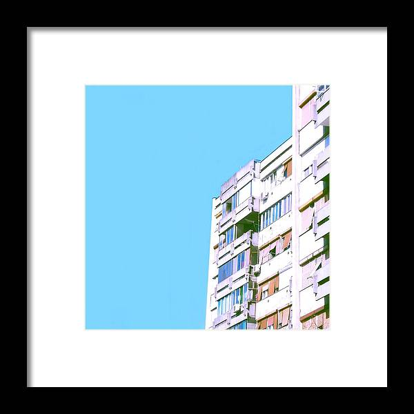 Urban Framed Print featuring the photograph Urban #1 by Teodora Bisenic