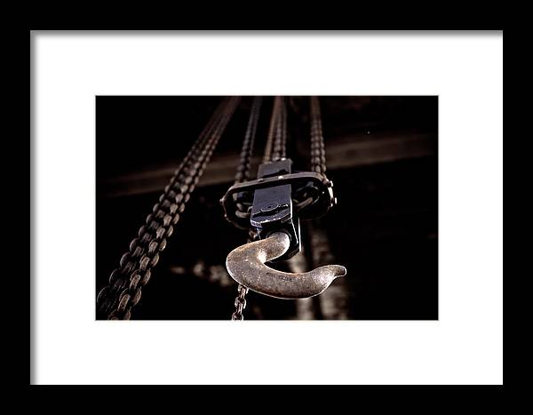 Art Framed Print featuring the photograph Urban Decay The Hook 2 by Edward Myers