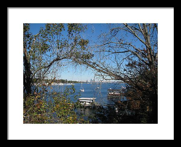 Framed Print featuring the photograph Urban Horizon by Thomas Kelly