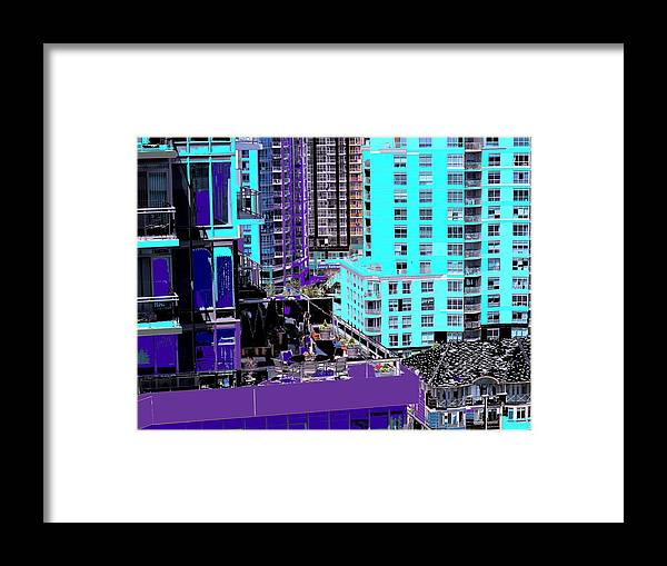 Framed Print featuring the photograph Urban Jungle by Ian MacDonald