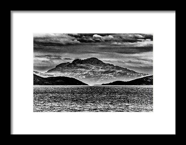 Ushuaia Framed Print featuring the photograph Ushuaia Ar 8 by Stefan H Unger
