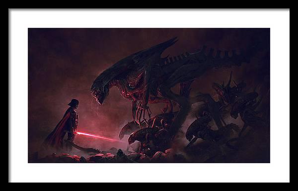 Vader vs aliens 4 by Exar Kun
