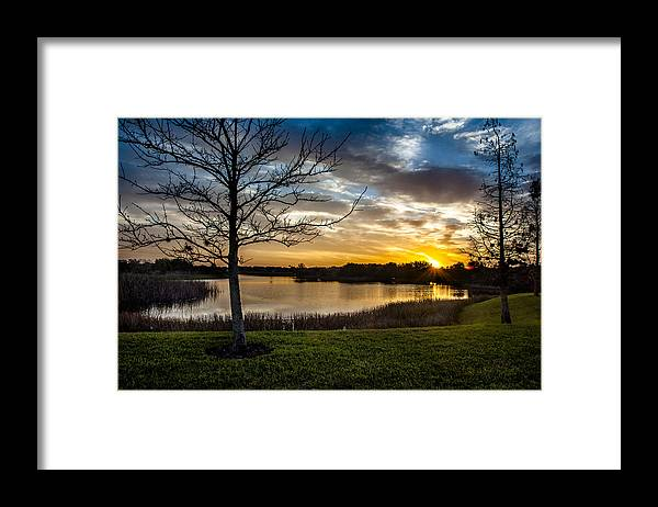 Sunrise Framed Print featuring the photograph Valhalla Sunrise by Norman Johnson