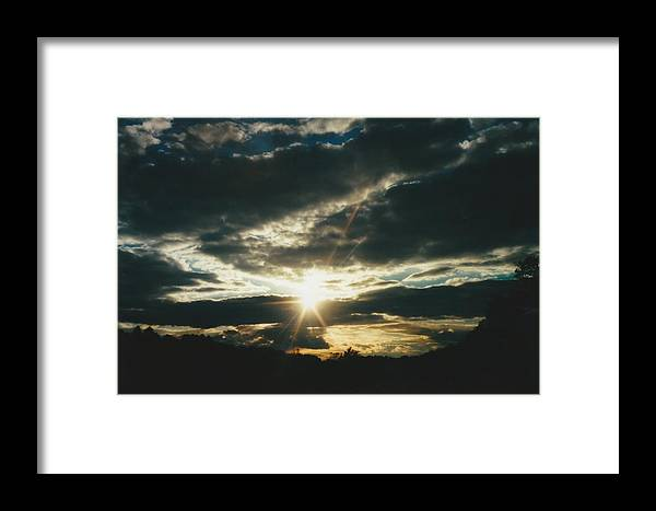 Photo Framed Print featuring the photograph Valley Grove West Virginia by Gene Linder