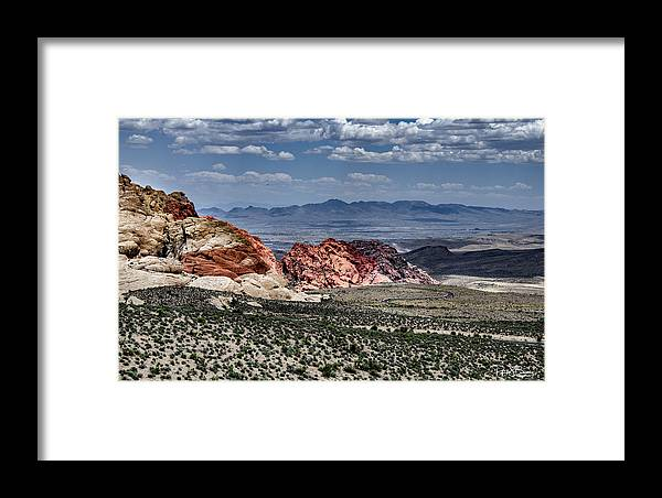 Desert Framed Print featuring the photograph Valley Of Fire Iv by Patrick Boening