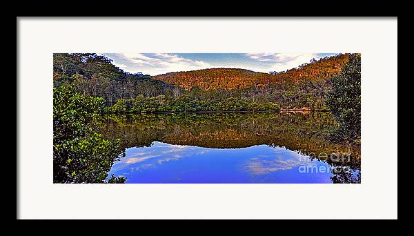 Photography Framed Print featuring the photograph Valley Of Peace by Kaye Menner