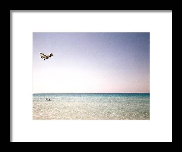 Beach Framed Print featuring the photograph Varadero Beach by Ana Aguiar