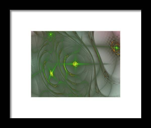 Art Framed Print featuring the digital art Varpulis by Jeff Iverson