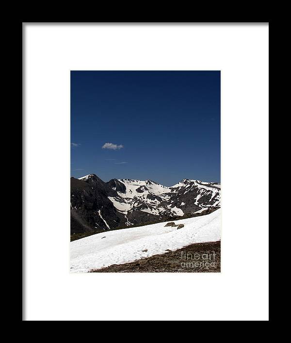 Colorado Framed Print featuring the photograph Vast Mother by Amanda Barcon