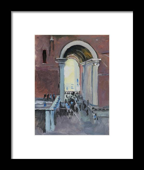 Rome Framed Print featuring the painting Vatican by Robert Bissett
