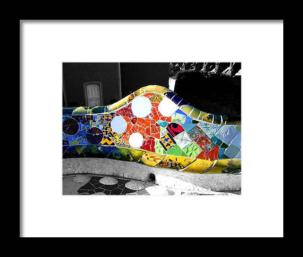 Gaudi Framed Print featuring the photograph Vein by Roberto Alamino