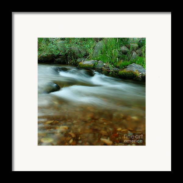 River Framed Print featuring the photograph Velvet River by Idaho Scenic Images Linda Lantzy