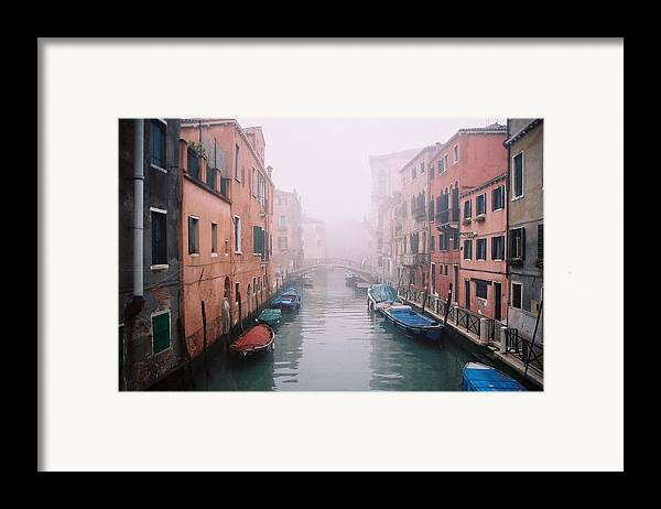 Venice Framed Print featuring the photograph Venice Canal I by Kathy Schumann