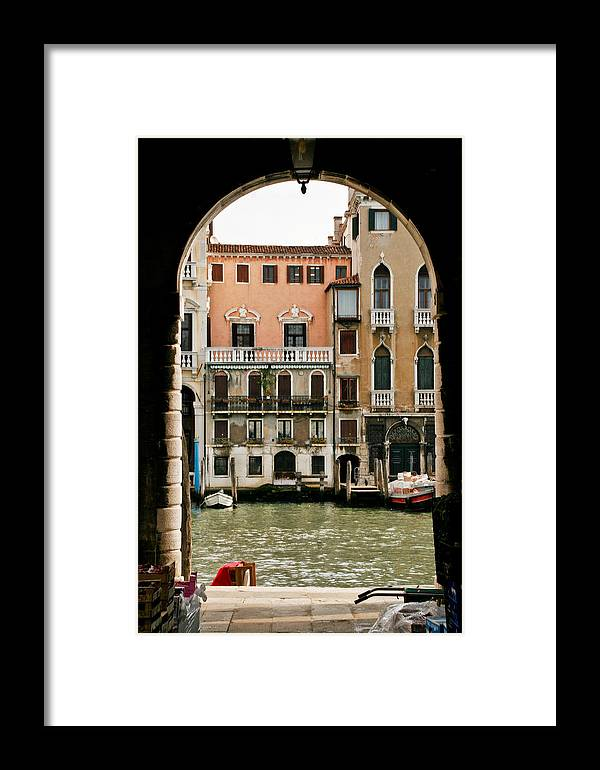 Venice Framed Print featuring the photograph Venice by Carl Jackson