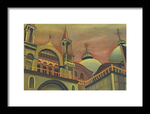 Italy Framed Print featuring the painting Venice by Elizabeth Cole
