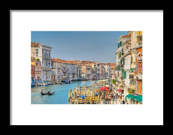 Venice Framed Print featuring the photograph Venice by Eric Rowe