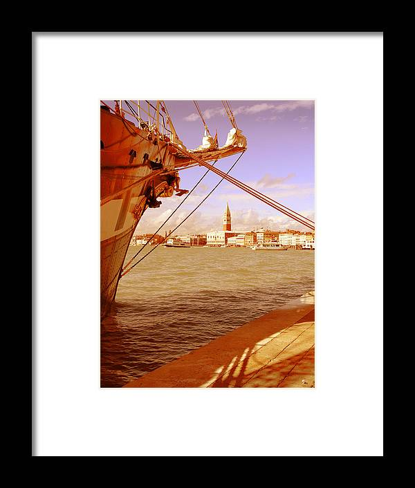 Venezia Framed Print featuring the photograph Venice Vii by Rodika George